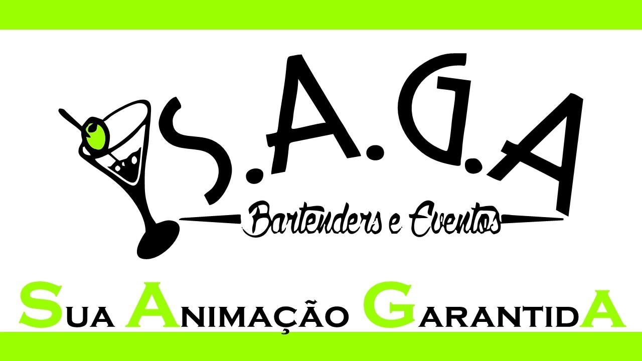 Logo S.A.G.A Bartenders e Eventos