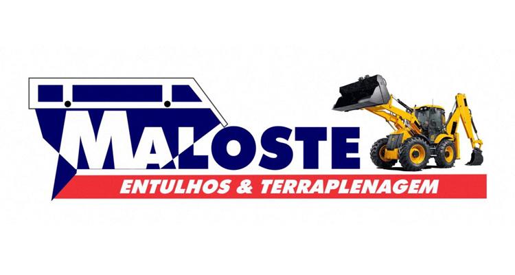Logo Maloste Entulhos & Terraplenagem
