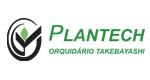 Logo Plantech Orquidário Takebayashi