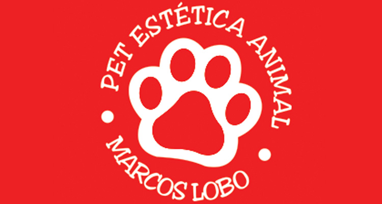 Logo Pet Estética Animal Marcos Lobo