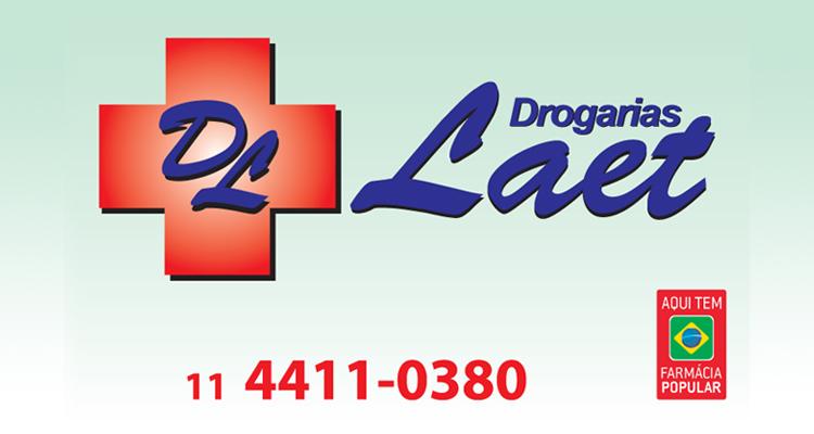 Logo Drogaria Laet