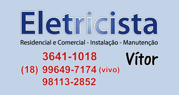 Logo Vitor Eletricista