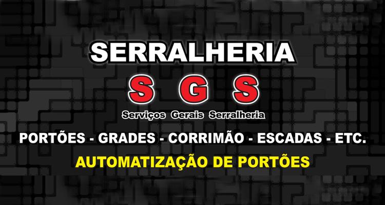 Logo Serralheria S G S
