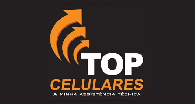 Logo Top Celulares - Loja 1