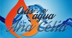 Logo Disk Gás e Água Mineral Ana Célia