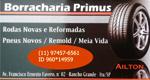 Logo Borracharia Primus