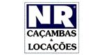Logo NR Caçambas e Locação de Equipamentos para Construção Civil