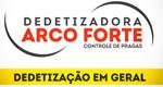 Logo Dedetizadora Arco Forte