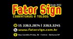Logo Fator Sign Coberturas e Totens