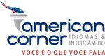 Logo American Corner Idiomas & Intercâmbio