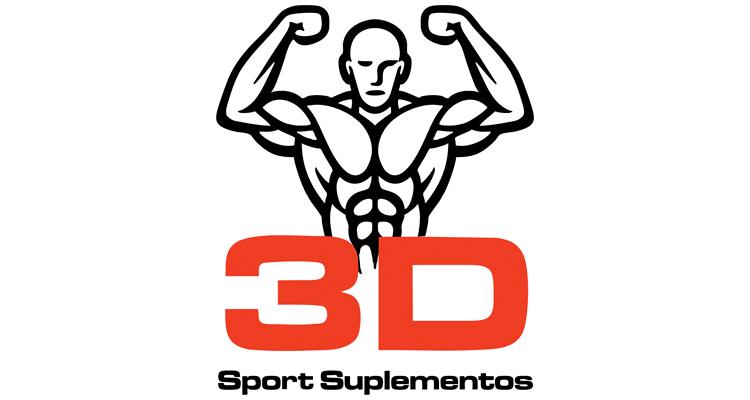 Logo 3D Sport Suplementos