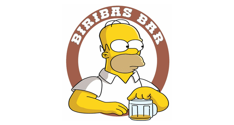 Logo Biribas Bar