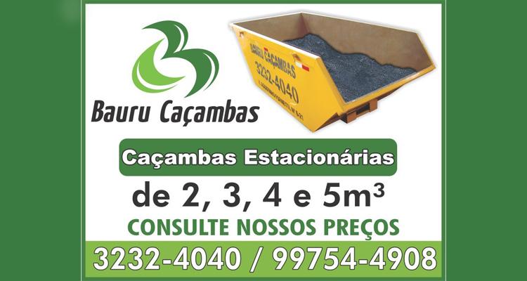 Logo Bauru Caçambas