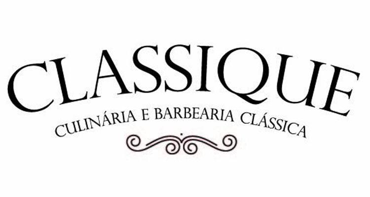 Logo Classique Culinária e Barbearia Clássica