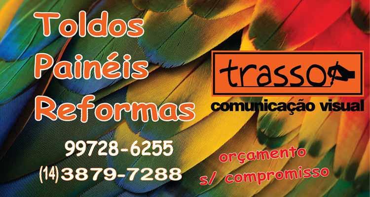 Logo Trasso Comunicação Visual