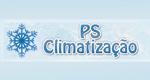 Logo PS Climatização e Refrigeração