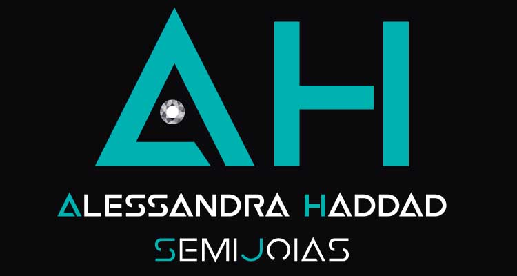 Logo Alessandra Haddad Semi Jóias