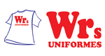 Logo WRs Uniformes Profissionais