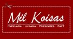 Logo Milkoisas Papelaria Livraria Presentes e Café