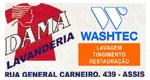 Logo Dama Lavanderia Washtec