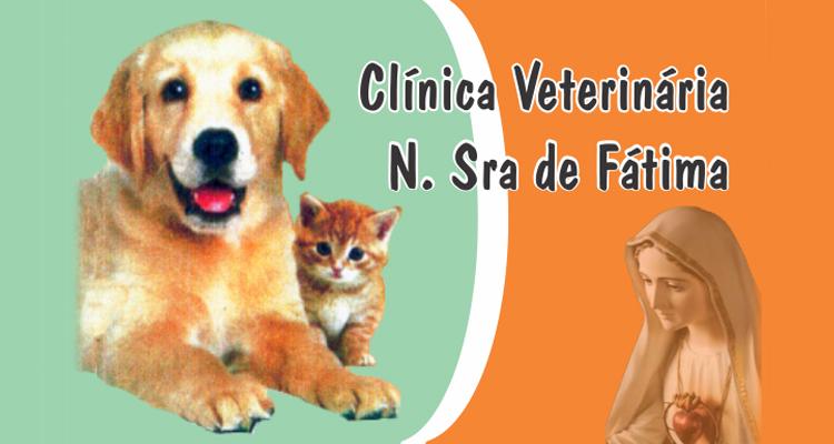 Logo Clínica Veterinária Nossa Senhora de Fátima