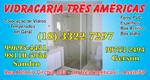 Logo Vidraçaria 3 Americas