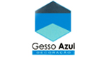 Logo Gesso Azul Decoração