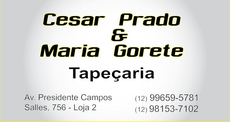 Logo Cesar Prado & Maria Gorete Tapeçaria