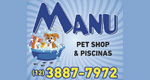 Logo Manu Pet Shop