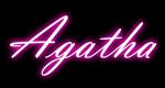Logo Agatha Art's e Decorações