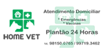 Logo Home Vet - Atendimento Domiciliar 24 horas