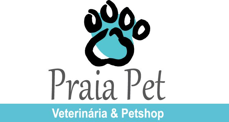 Logo Praia Pet - Veterinária & Petshop