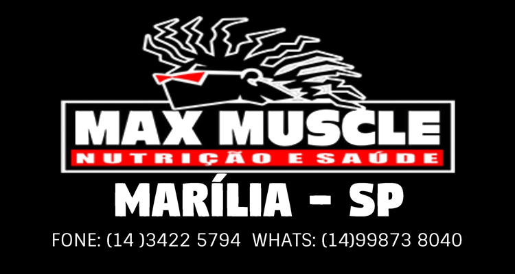 Logo Max Muscle Marília