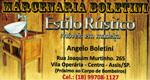 Logo Marcenaria Boletini - Estilo Rústico