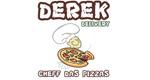 Logo Derek Cheff das Pizzas