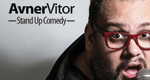 Logo Avner Vitor - Stand Up Comedy