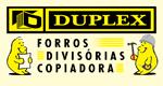 Logo Duplex Forros e Divisórias & Copiadora