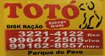 Disk Rações Totó