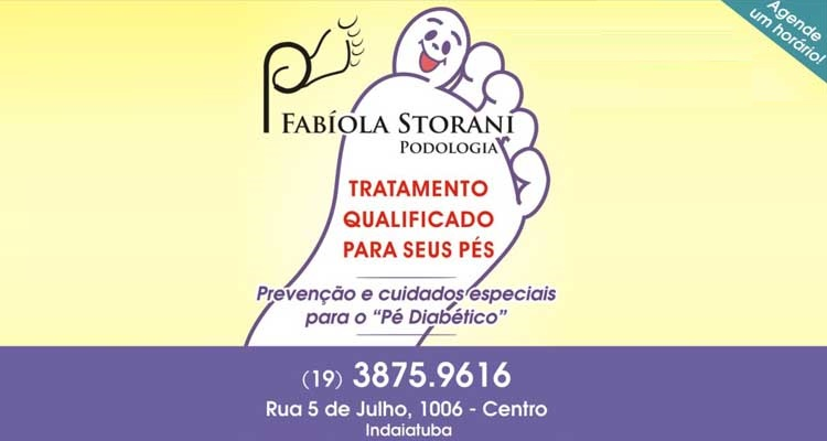 Logo Fabíola Storani Podologia