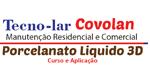 Logo Tecno Lar Covolan Manutenção Residencial e Comercial