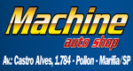 Logo Machine Auto Shop