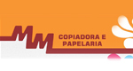Logo MM Copiadora e Papelaria