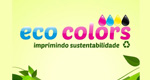 Logo Eco Colors Imprimindo Sustentabilidade