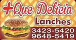 Logo + Que Delícia Lanches