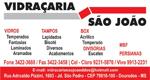 Logo Vidraçaria São João