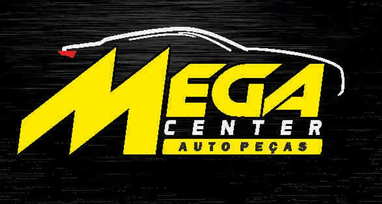 Logo Mega Center Auto Peças