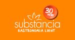 Logo Substância Gastronomia Light São Carlos