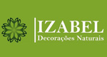 Logo Izabel Decorações Naturais