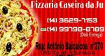 Logo Pizza Caseira da Ju