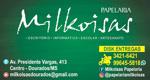 Logo Milkoisas Papelaria